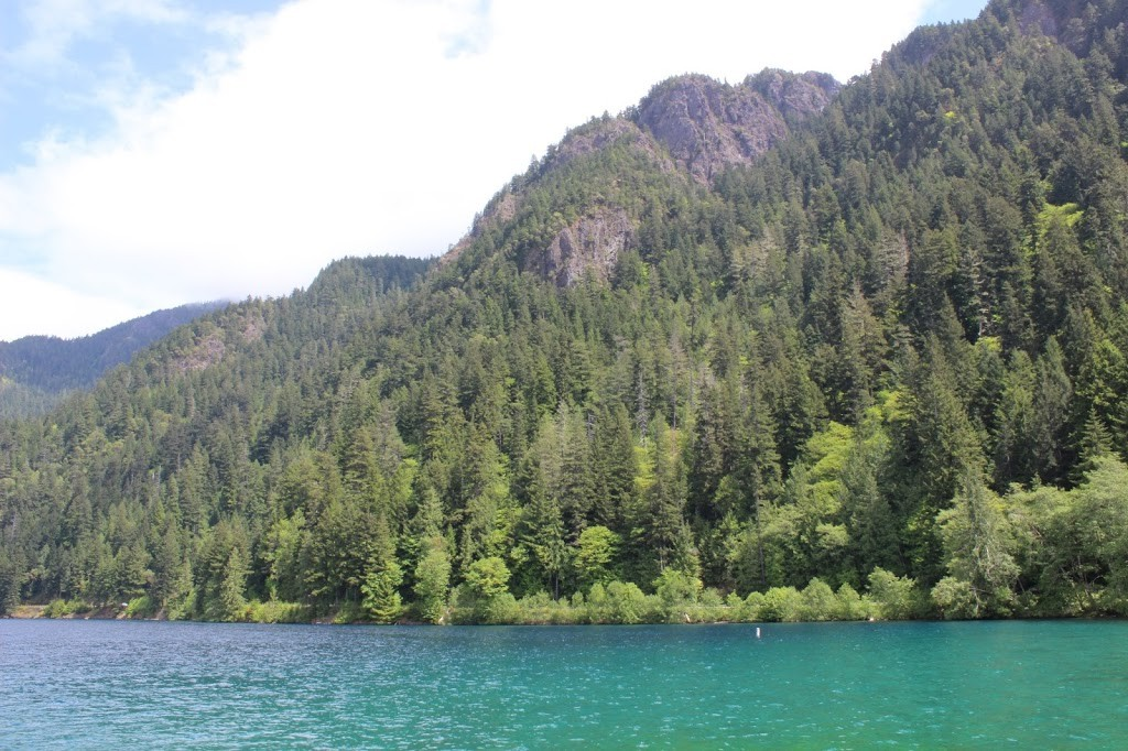 Crescent Lake, Olympic National Park, Hiking