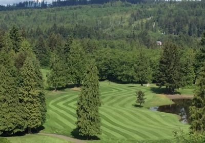 Golf, Golfing, Olympic Peninsula