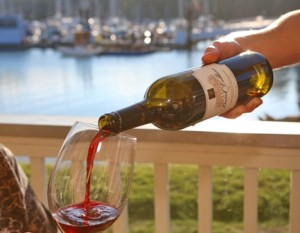 Wine, Waterfront Dining, Resort, Olympic Peninsula
