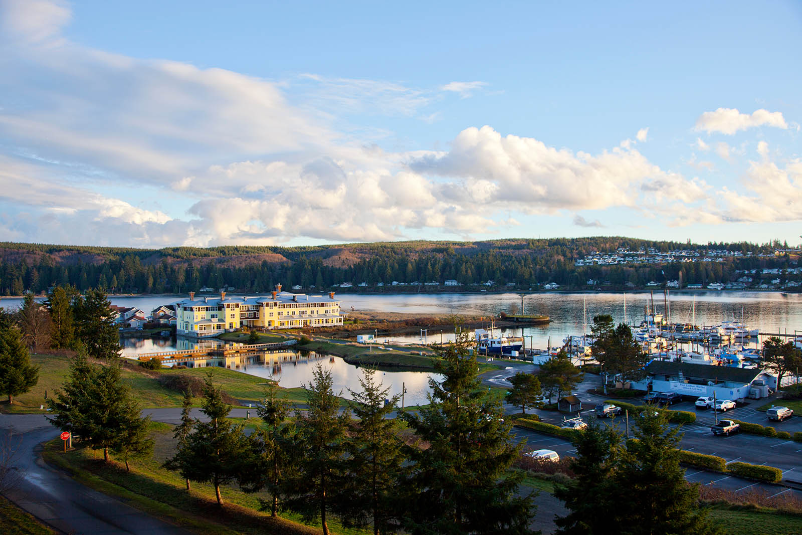 Golf Course Marina Inn Dining And Homes In Port Ludlow