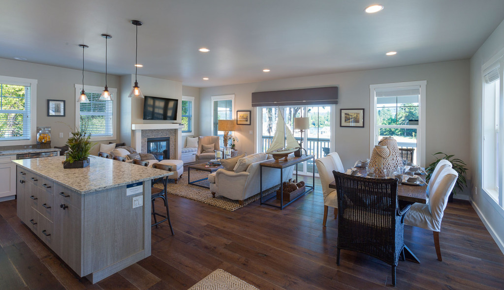 Kitchen, Dining Room, Living Room, New Construction