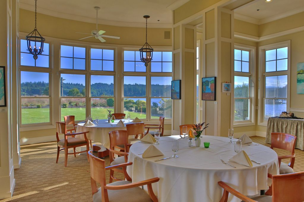 Table setting, Groups, Meeting Space, Olympic Peninsula