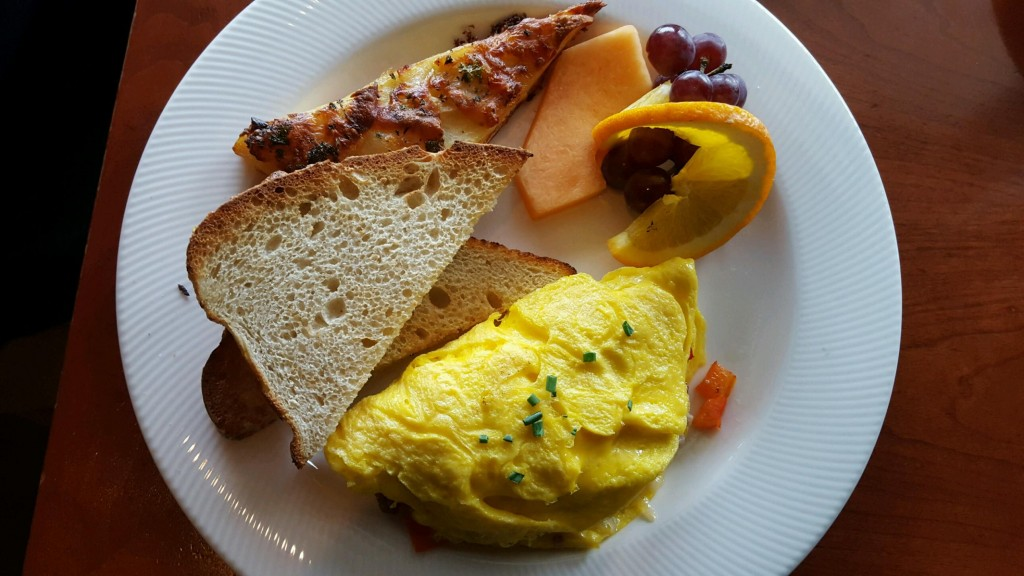 Eggs, Omelet, Breakfast, Waterfront Dining
