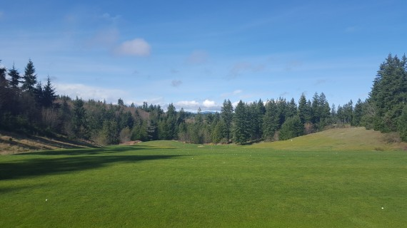 Driving Range, Olympic Peninsula, Golf Course