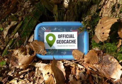 Geocache, Geocaching, Olympic Peninsula