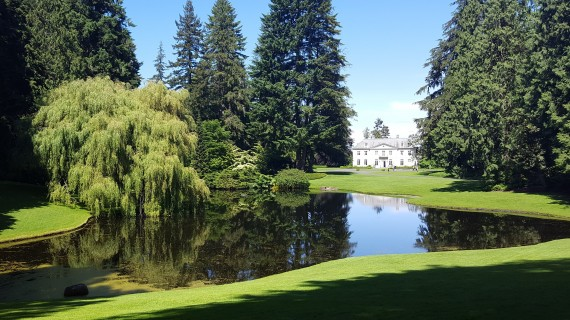 Bloedel Reserve, Pond, Historic