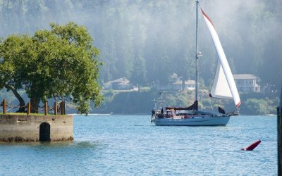 Sailboat, Boating, Puget Sound, Olympic Peninsula