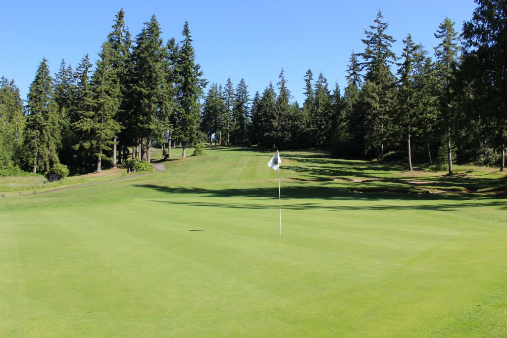 Greens, Golf, Golfing, Olympic Peninsula