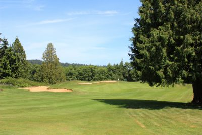 Bunkers, Golf, Golf Course, Olympic Peninsula