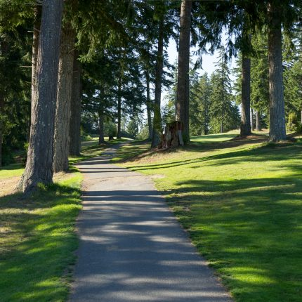 Olympic Peninsula, Golf Course, Golfing