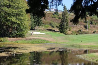 Pond, Olympic Peninsula, Golf Course