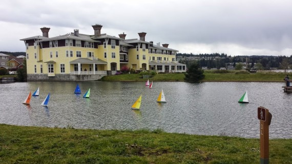 Sailboats, Water, Inn, Resort, Olympic Peninsula