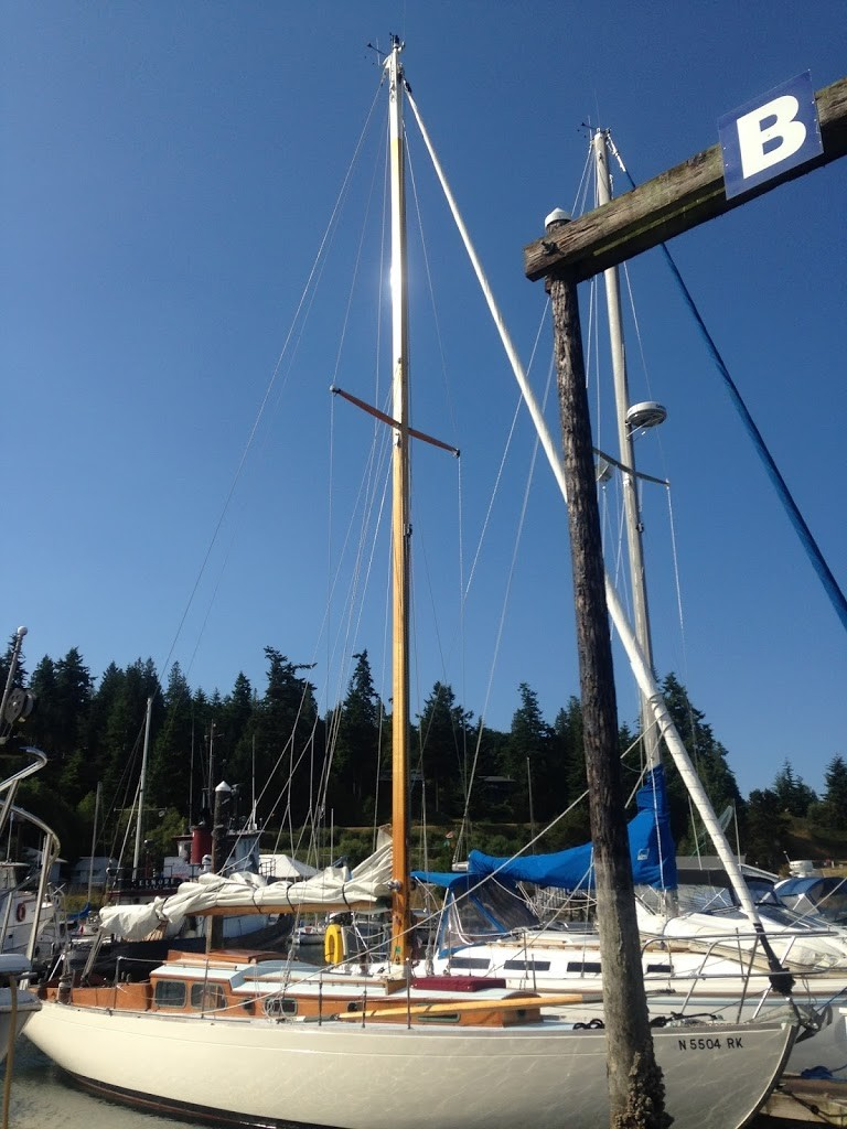 Sailboat, Marina, Puget Sound, Olympic Peninsula