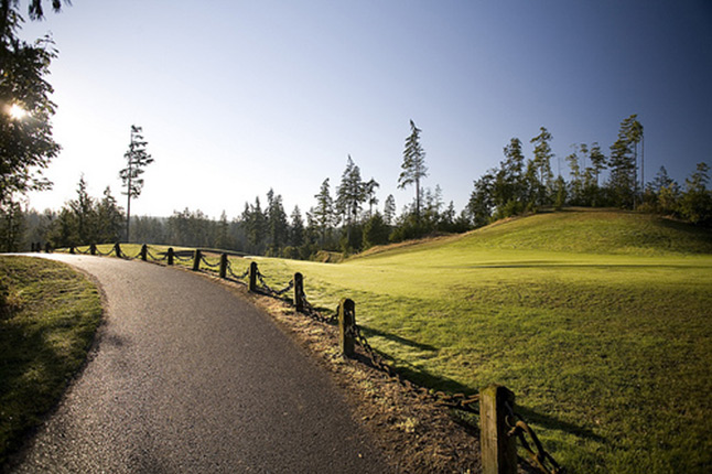 Golf Course, Active Lifestyle, Olympic Peninsula