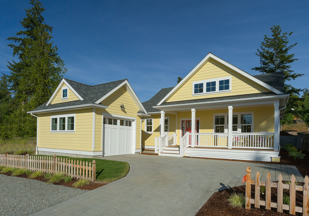 Neighborhood, Home, Olympic Peninsula, New Construction