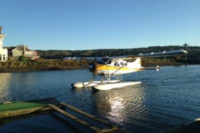 Seaplane, Kenmore Air, Puget Sound, Marina