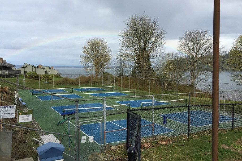 Pickleball, Court, Active Lifestyle