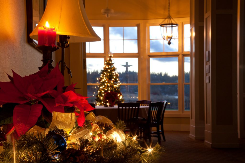 Holidays, Christmas, Resort, Inn, Olympic Peninsula