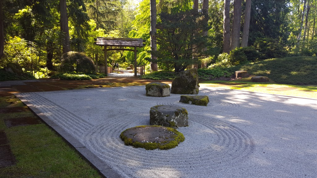Japanese Garden, Garden, Rock, Bainbridge Island
