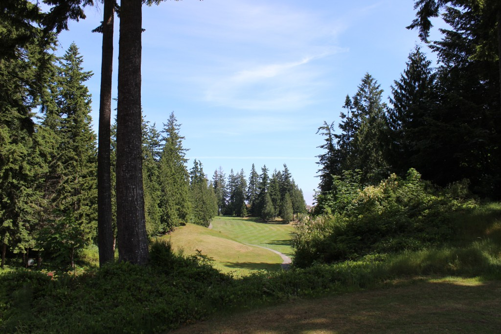 Golfing, Golf Course, Olympic Peninsula