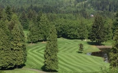 Golf Course, Greens, Olympic Peninsula