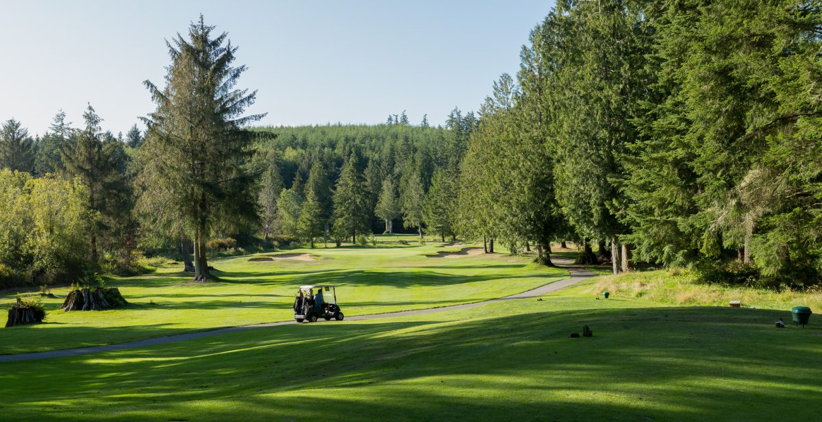 Olympic Peninsula, Golf, Golf Cart