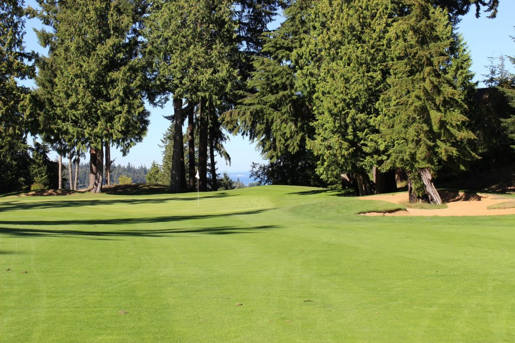 Golf Course, Water Views, Olympic Peninsula