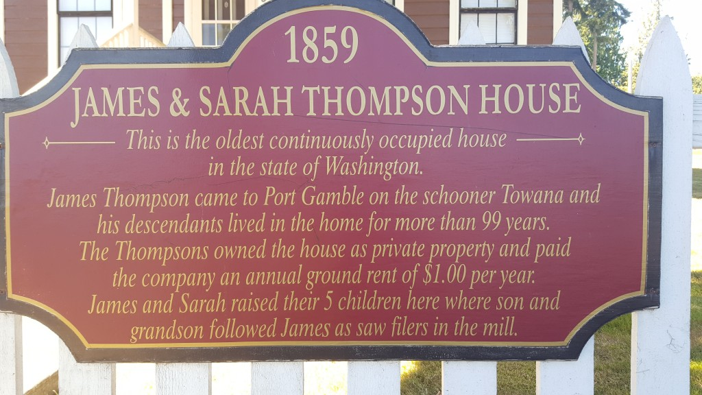 Port Gamble, Historical Home