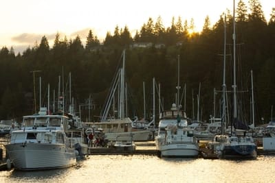 Olympic Peninsula, Marina, Boating
