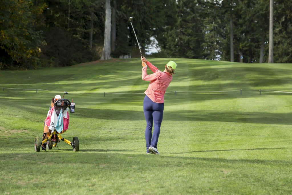 Golfer, Active Lifestyle, Golf Course, Olympic Peninsula