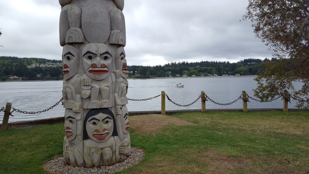 Totem Pole, Boating, Puget Sound